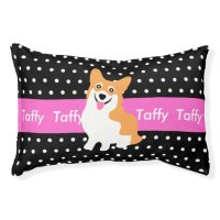 Welsh Corgi's Personalized Dog Bed Small Dog Bed | Zazzle