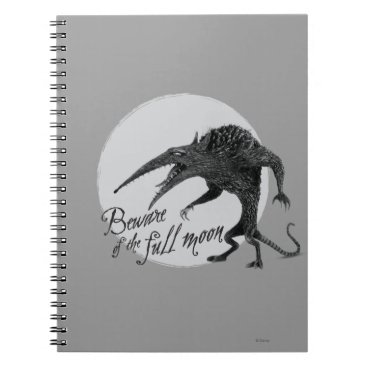 Wererat: Beware of the Full Moon Notebook