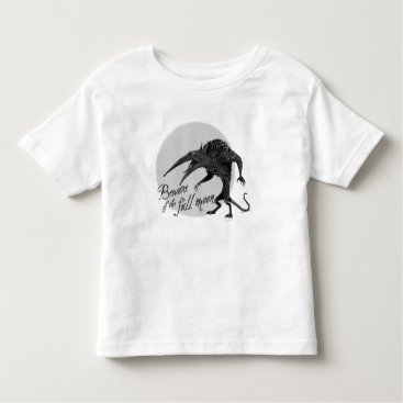 Wererat: Beware of the Full Moon Toddler T-shirt