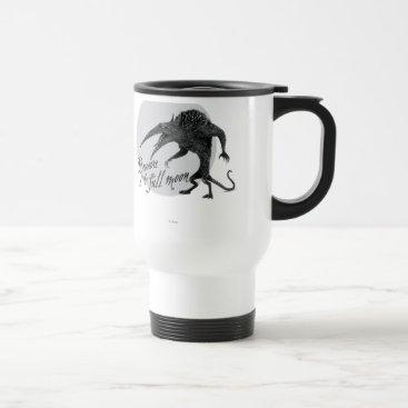 Wererat: Beware of the Full Moon Travel Mug