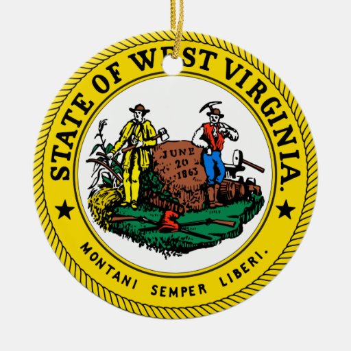 Virginia Christmas Ornaments