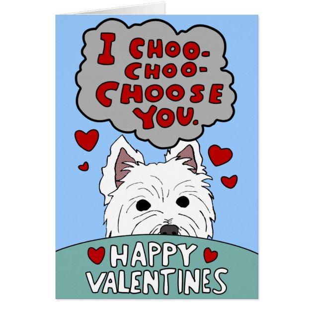 I Choo Choose You Cards