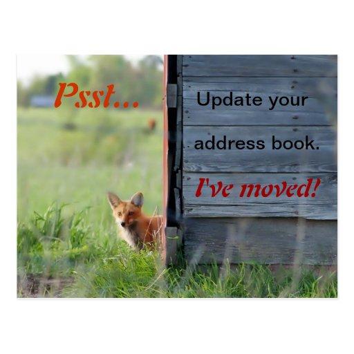 Weve Moved Postcards Amp Postcard Template Designs
