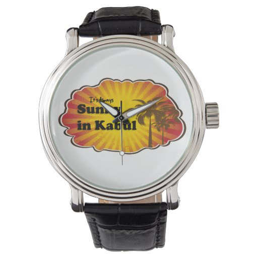 What time is it? It's Kabul time!