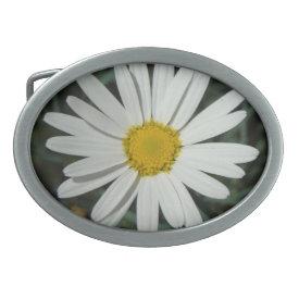 White Daisy - Belt Buckle