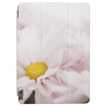 White Daisy Flowers Pink Floral Daisies Flower iPad Air Cover