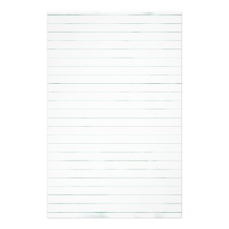 White lined Paper Stationery Design