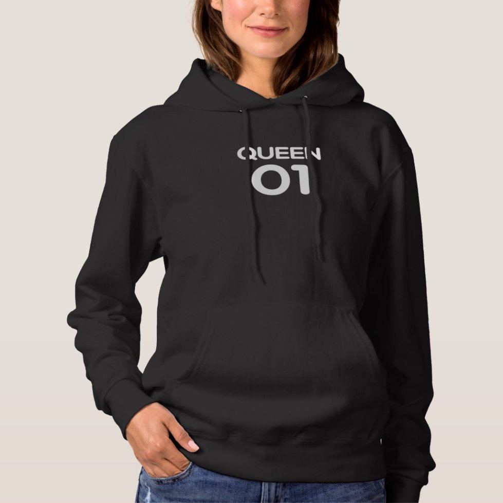 White Queen 01 Hoodie