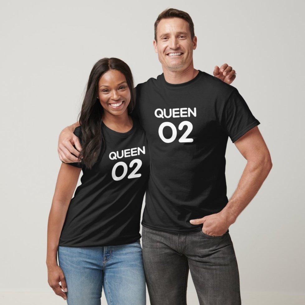 White Queen 02 T-Shirt