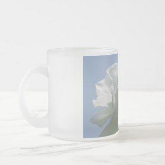 White Rose Mug