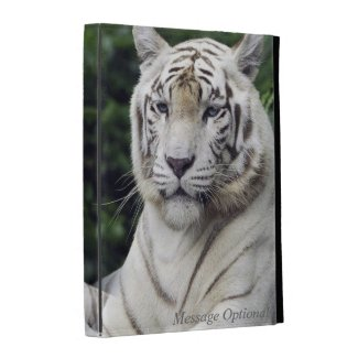 White Tiger 1 Caseable iPad Folio Cases