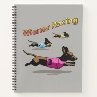 Wiener Racing spiral notebook