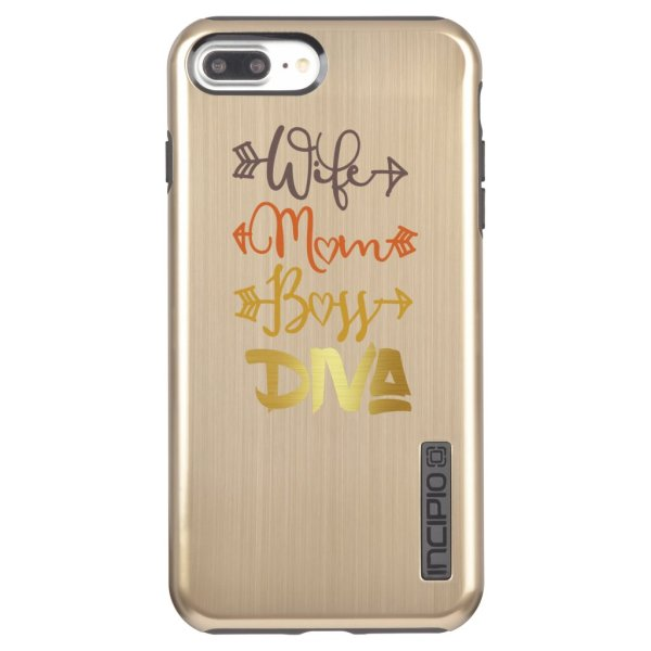 Wife Boss Diva iPhone Case