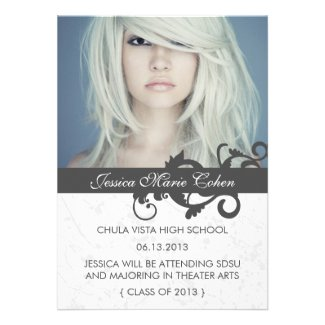 Wild Class of 2013 Graduation Announcement