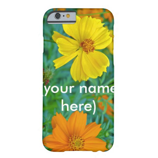 Wildflowers iPhone 6/6s case