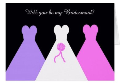 Will You Be My Bridesmaid Poem