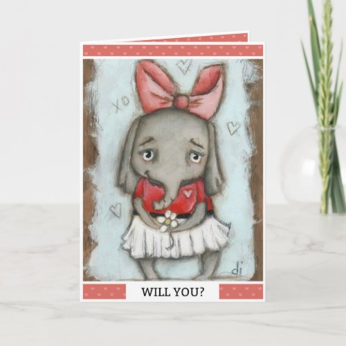 Will YOu? - Valentine Holiday Card