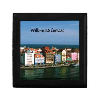 Willemstad Curacao Jewelry Box