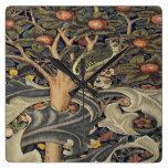 William Morris beautiful art nouveau work,William Square Wall Clock