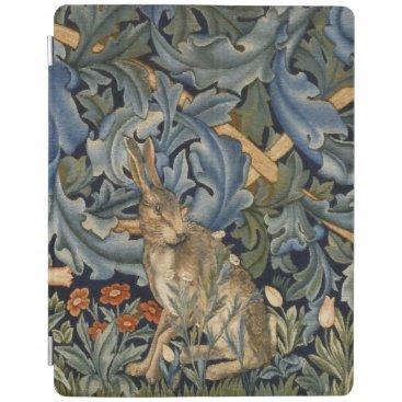 William Morris Forest Rabbit Floral Art Nouveau iPad Smart Cover