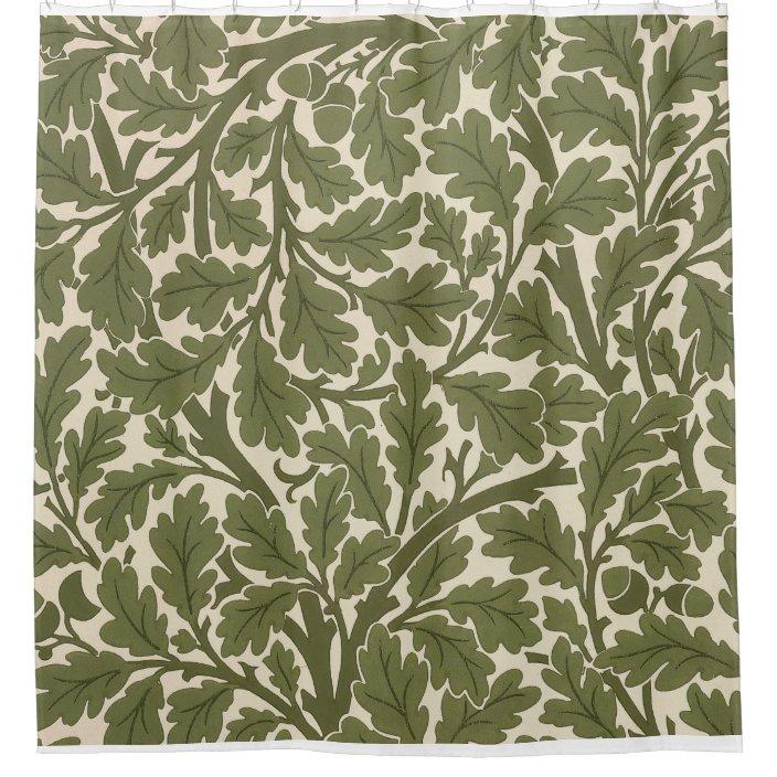 william morris oak tree shower curtain zazzle com