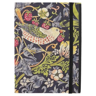 "William Morris Strawberry Thief Floral Art Nouveau iPad Pro 12.9"" Case"