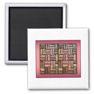 Wine Corks Collage Magnet
