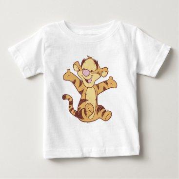 Winnie The Pooh Baby Tigger Sitting Baby T-Shirt
