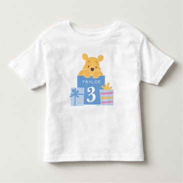 Winnie the Pooh | Happy Birthday Toddler T-shirt
