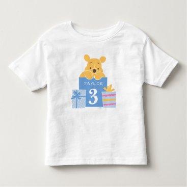 Winnie the Pooh | Happy Birthday Toddler T-shirt