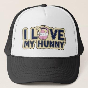 Winnie The Pooh | I Love My Hunny Trucker Hat