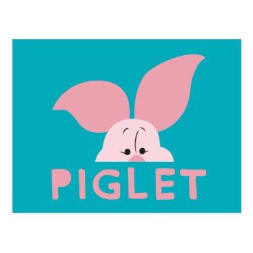 Winnie the Pooh | Peek-a-Boo Piglet Postcard