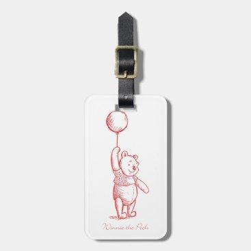 Winnie the Pooh Sketch Bag Tag