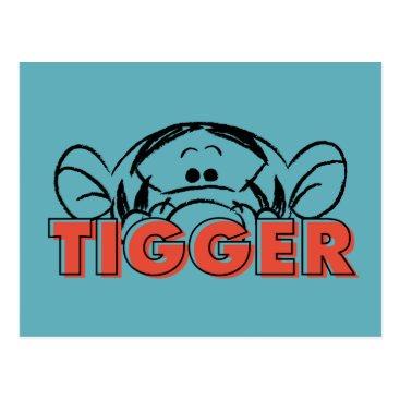 Winnie the Pooh | Tigger Peek-A-Boo Postcard