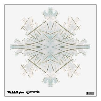Winter Snowflake Christmas Holiday Wall Art Wall Decal
