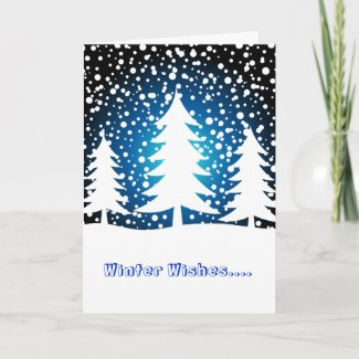 Winter Wishes.... - Card card