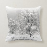Winter Wonderland Throw Pillow | Zazzle.com