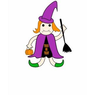 Witch costume - Tshirt shirt