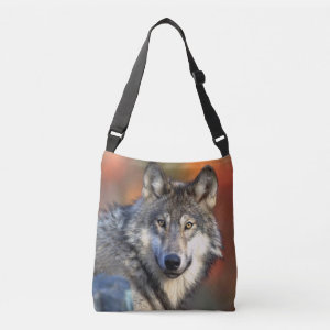 Wolf Photograph Tote Bag