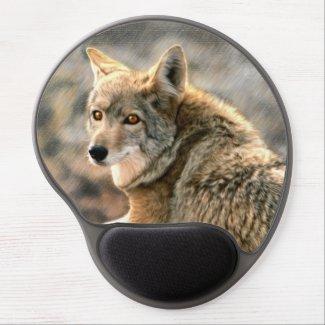 Wolf Rain Graphic Art Gel Mouse Pad