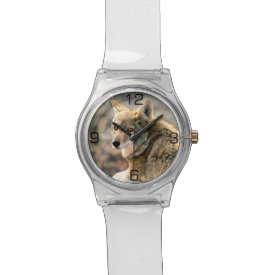 Wolf Rain Graphic Art Wrist Watch