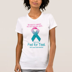 Women's Cancer. It's not always pink. Tees