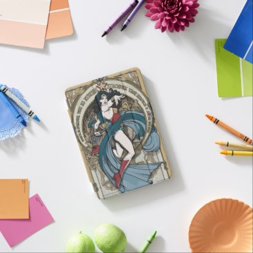 Wonder Woman Art Nouveau Panel iPad Mini Cover