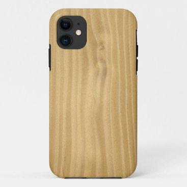 Wood Grain Texture iPhone 11 Case