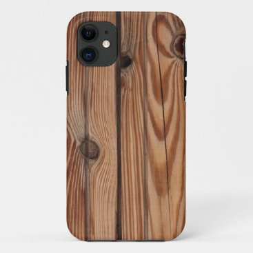 Wood Knot - Wood Grain Texture iPhone 11 Case