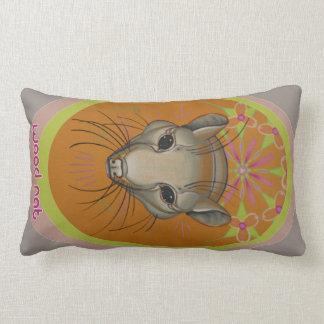 pet rat animal art pillow