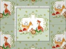 Woodland Fairytale Creatures Baby Neutral Nursery Fabric ...