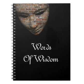 Words Of Wisdom - Inspirational Notebook