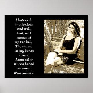 The Wiser Mind Mourns Less William Wordsworth Wa