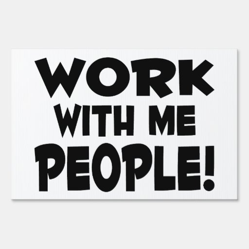work with people team lawn